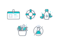 Essential Oil Icons