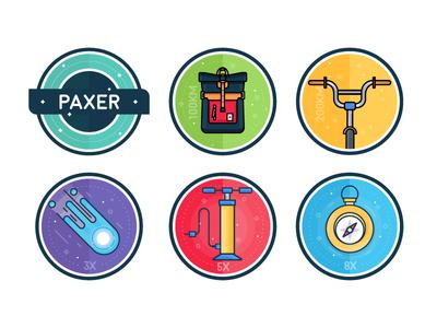 Paxira - Achievement Badges pt.1