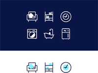 Home ui icons d attached