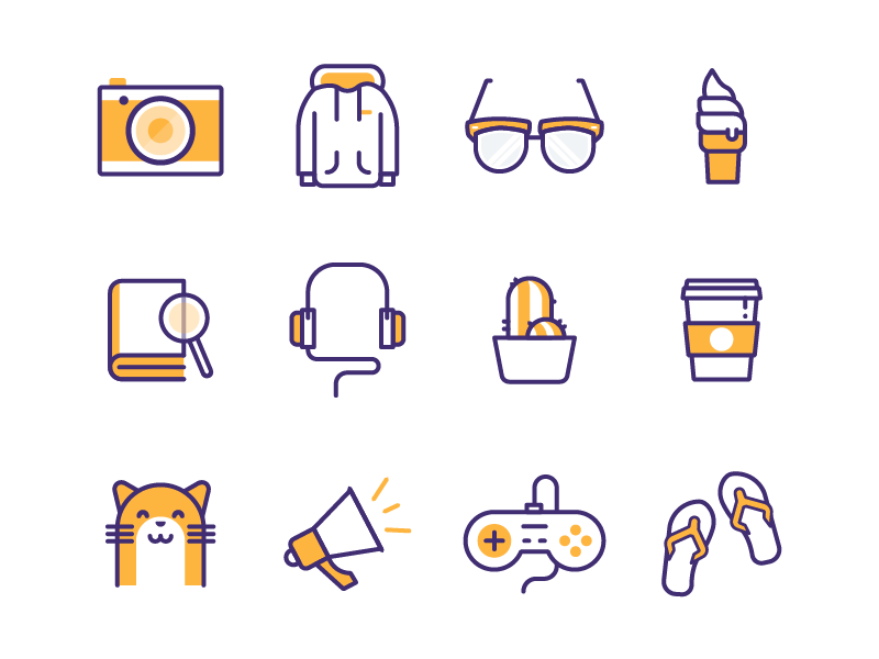 Random Icons by Vy Tat