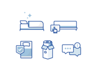 Mattress Trial Icons