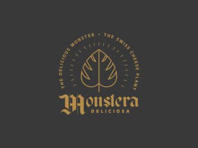 Monstera Badge