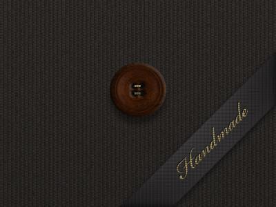 Fabric button concept