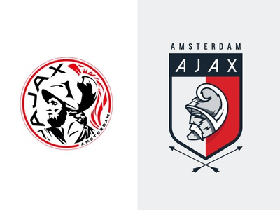 Ajax Logo by Sam Horn - Dribbble