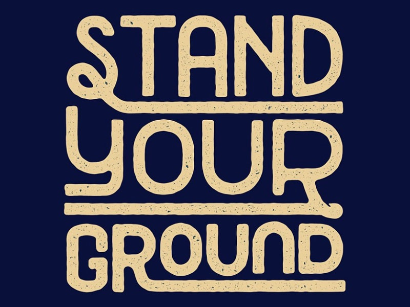 stand your ground Stand your ground has 128 ratings and 20 reviews david said: listen to my podcast interview with the author at:.