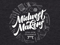 Midwest Makers - T-Shirt Design Sketch