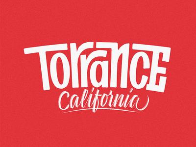 Torrance Lettering Practice