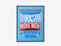Workshop Movie Night Show Card
