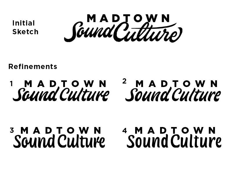 Logo Refinements - Any Feedback? wisconsin script logo custom lettering lettering logotype