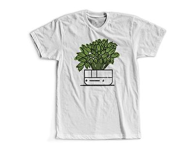 Left Pothead planters pots potheads plants shirt digital illustration design757 design illustration graphic design