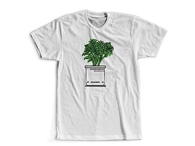 Middle Pothead pots planters potheads pants shirt digital illustration design757 design illustration graphic design