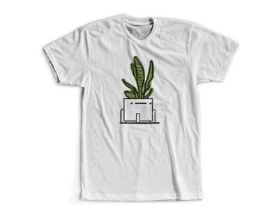 Right Pothead planters pots plants shirt digital illustration design757 design illustration graphic design
