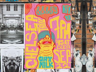 &&&&'s - Gig-Poster fake band poster design poster gig poster grunge digital illustration design757 design illustration graphic design
