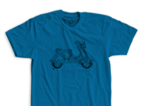 """Bitchin' Vespa"" - Shirt"