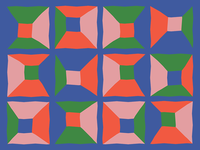 Lissie poster pattern