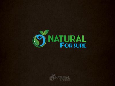 Natural For Sure Logo