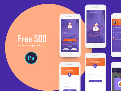 Reward App UI KIt
