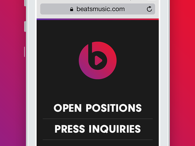 What I've been up to... music responsive hiring