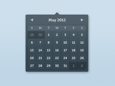 There are many like it, but this one is mine. full metal jacket museo slab noise blue calendar date picker