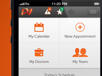 Healthcare industry scheduling app