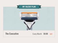 My Razor Plan