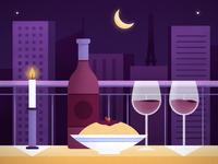 Date Night in Paris