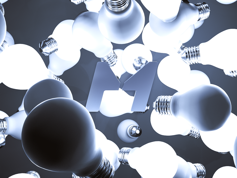 Bulb branding web deisgn web bulb design cinema 4d ui render 3d octane c4d ads