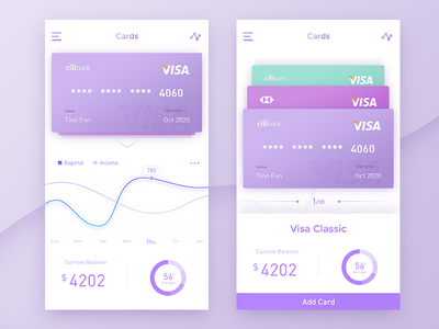 Payment daily ui ux ui clean app card payment