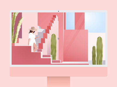 Depth! 🎥 website motion illustration ui