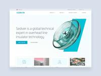 Sediver - Homepage iteration