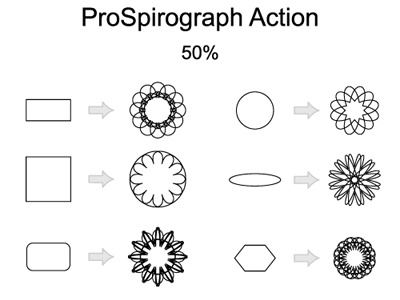 Free ProSpirograph Illustrator Action by MAi Tools on Dribbble