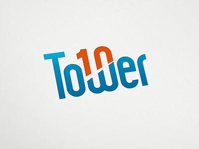 Tower10 logo web startup london tower10 logo logo design