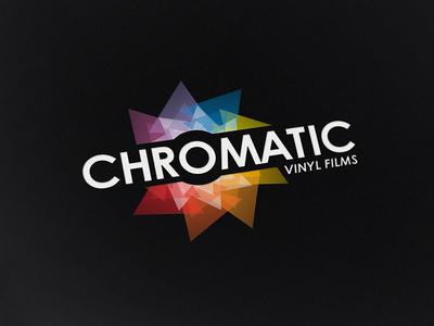 Chromatic logo architecture industrial automotive vinyl vinyl films ireland chromatic logo logo design