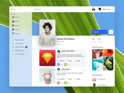 Social Mac App