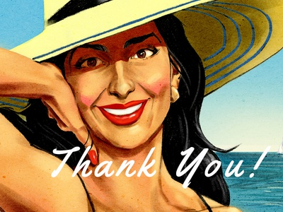 Thank You Shot to Thorsten Beeck illustration debut thank you