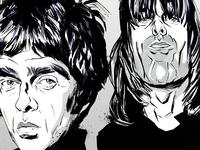 Oasis, Caricature
