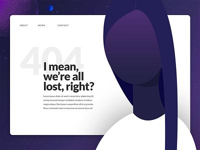 404 woman 404 error page vector illustration ui error 404 page 404