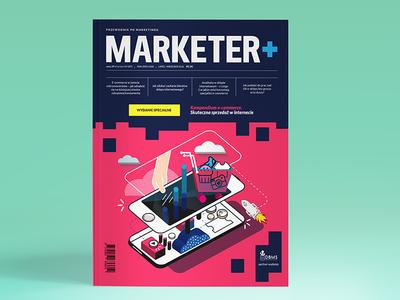 Illustration for cover editorial design illustration magazine