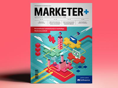 Magazine cover editorial design illustration magazine