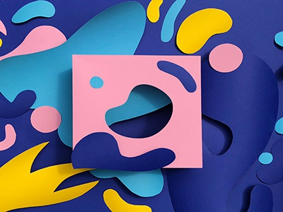 Cutouts graphic  design photography graphic papercut paper