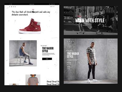 Valder Style branding concept art direction graphicdesign web ui webdesign typography uidesign design