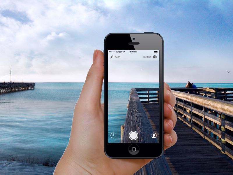 Snapchat Redesign (Freebie) snapchat redesign ios 7 icon sketch free freebie resource minimal design iphone 5