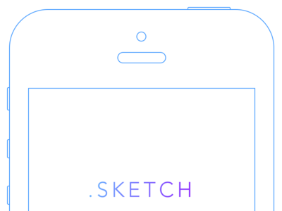 iPhone 5S Wireframe