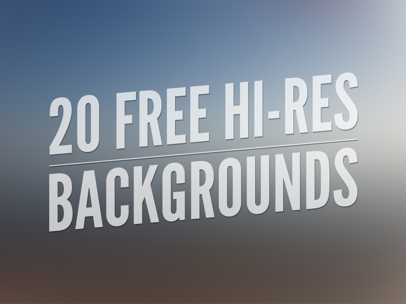 20 Free Hi-Res Backgrounds 20 twenty free freebie hi res resolution backgrounds blurred 4500 by 3000 retina wallpaper bacon