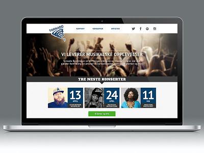 Tornado Booking webdesign website responsive mockup mac mackbook behance