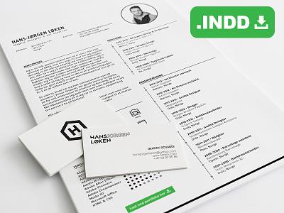 Resume Freebie resume freebie cv job print a4 layout paper