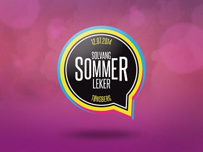 SSL 2014 logo norway event cartoon pink summer games tønsberg