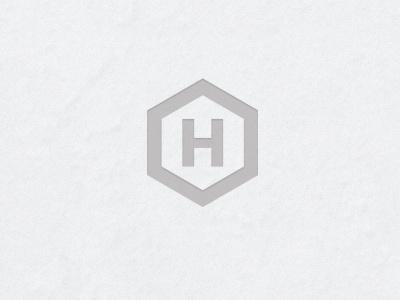 Logo logo self promotion stone h branding symbol white cream clean typo sans paper
