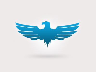 Barclays eagle eagle logo bird pictogram gradient redesign animal symbol emblem adobe norway oslo milan blue