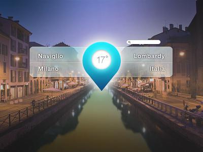 Milano milano naviglio italy pin app search place photoshop